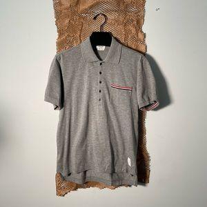 THOM BROWNE | Short sleeve polo shirt